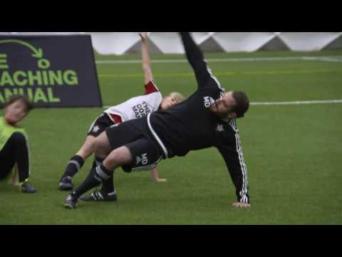 Soccer Activation Exercise U6-U9