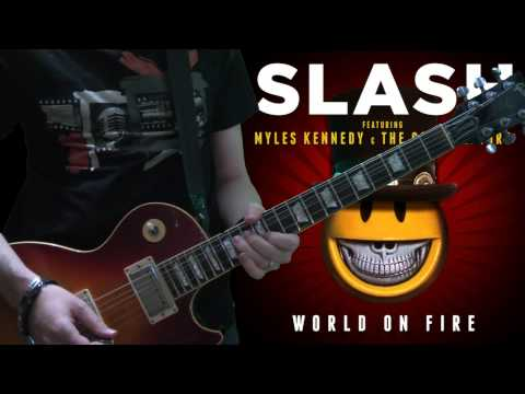 Slash & Myles Kennedy - The Unholy (full guitar cover)