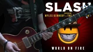 Slash & Myles Kennedy - The Unholy (full guitar cover)