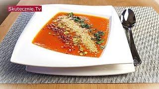 Zupa krem z pomidorów, marchwi, papryki i ziemniaków (pyszna!) :: Skutecznie.Tv