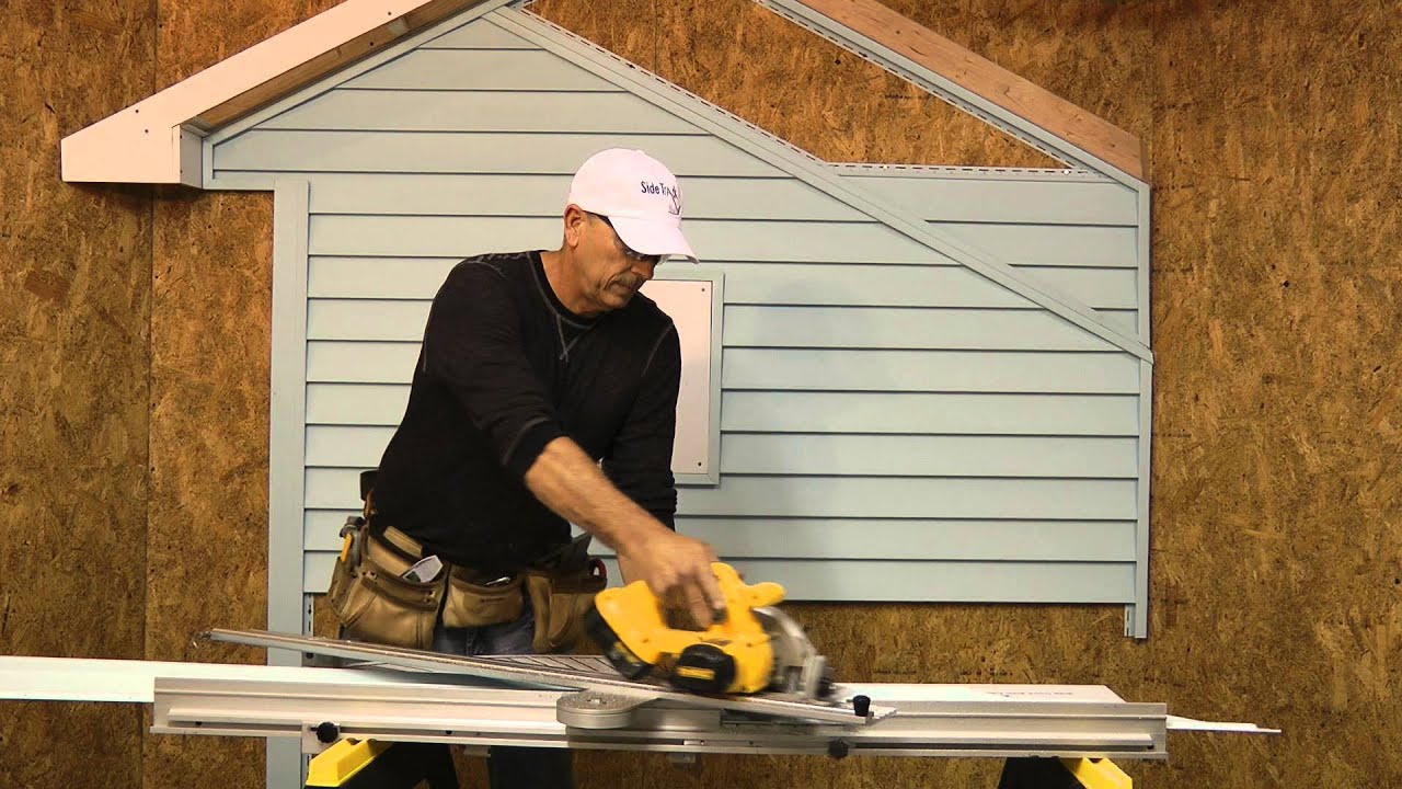 How To Install Vinyl Siding Part 2 Youtube