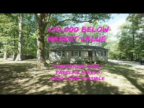 BLACK FRIDAY pricing ! Over an Acre  ! ! ! 3BR  in E. Henrico VA Steal @ $81K