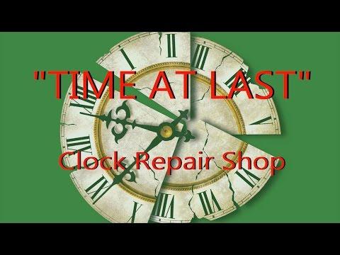 """2015 """"Time at Last"""" - Clock Repair Shop, Wilmington, NC"""