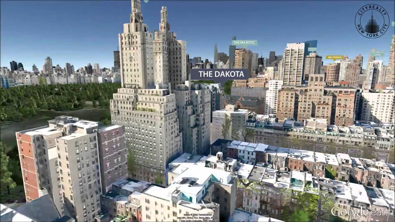 The Dakota 1 West 72nd Street New York Ny Youtube