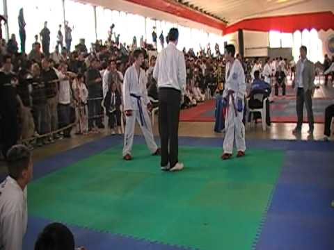 Leandro Soto lucha Final 2 (fractura de clabicula)