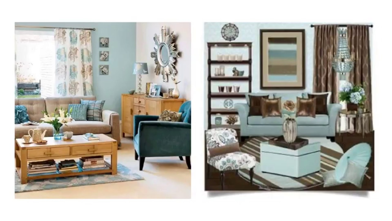 Modest Duck Egg Blue And Brown Living Room Ideas To Light Your Room Youtube
