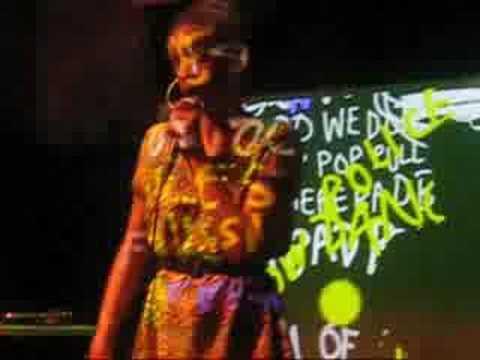 "Kissey Asplund Live Performance, Work It Out,"" 7.21.08"