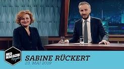 Sabine Rückert zu Gast im Neo Magazin Royale mit Jan Böhmermann -  ZDFneo