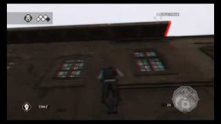 Assassin's Creed 2 anaglyph 3D gameplay - Max Settings