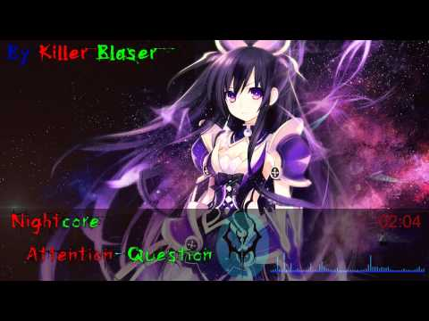 Nightcore - Attention Question (Tohka and Shiori song) - Date a live II