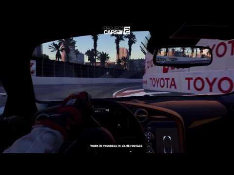 Project CARS 2 - Mclaren 720s Long Beach Grand Prix Cockpit Footage