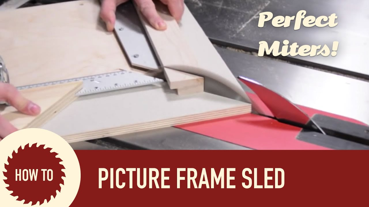 The ultimate picture frame sled with micro jig zero play guide bar the ultimate picture frame sled with micro jig zero play guide bar jeuxipadfo Choice Image
