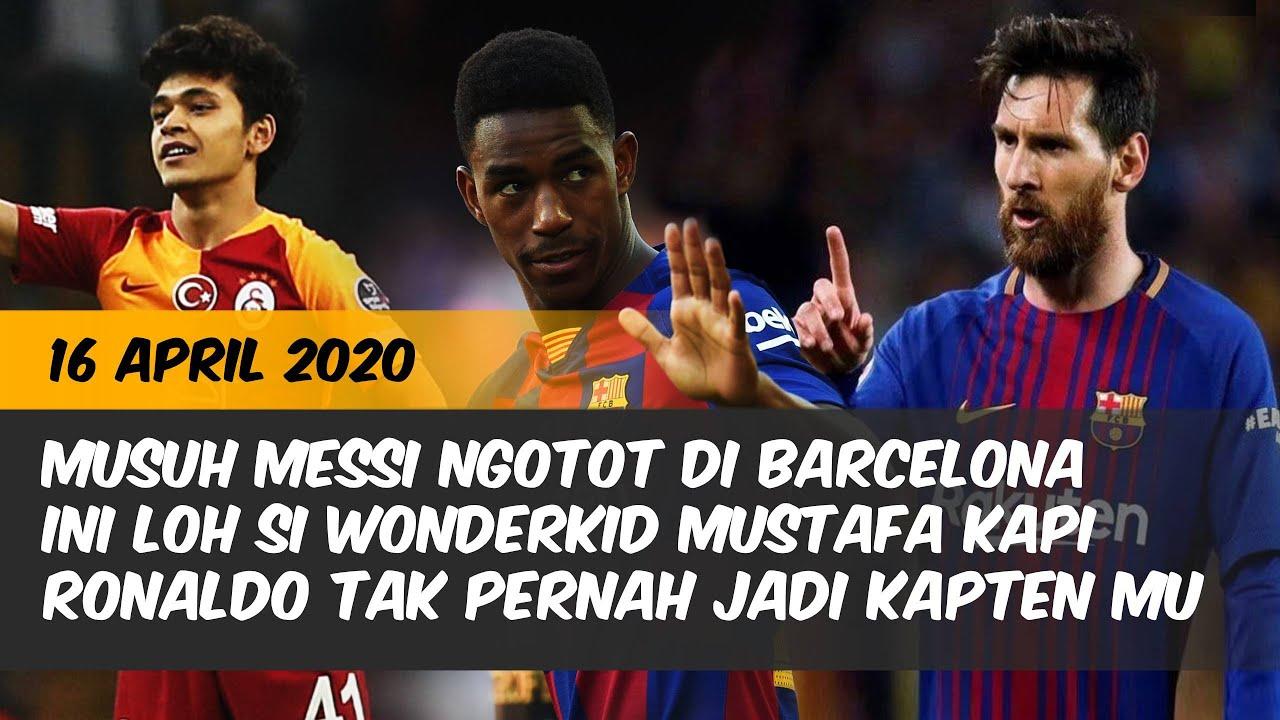 Alasan Ronaldo Tak Pernah Jadi Kapten MU Musuh Messi