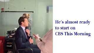 Tony Dokoupil arrives on CBS This Morning