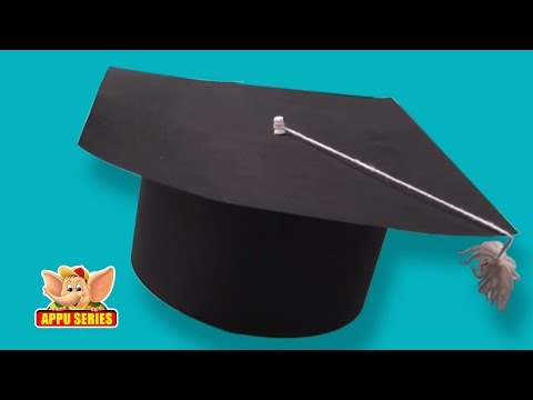 Learn to make a Graduation Cap - Arts & Crafts