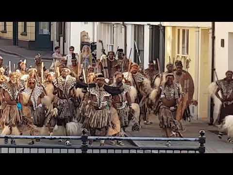 Zulus in Brecon