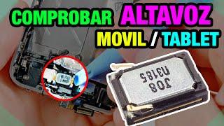ELECTRÓNICA | Comprobar los altavoces Movil / Tablet / Dispositivos