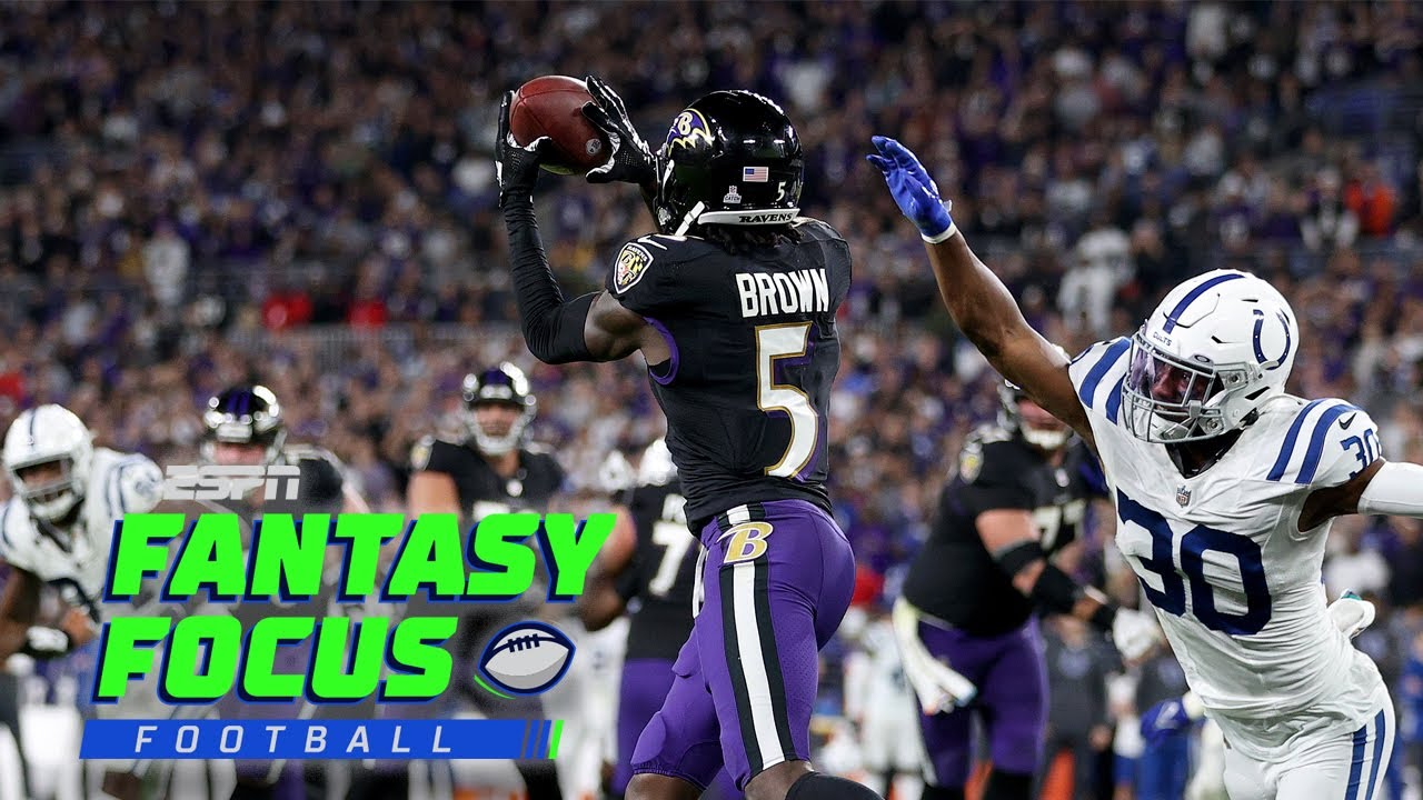 Download Ravens beat the Colts in OT and Waiver Wire Preview   Fantasy Focus Live!