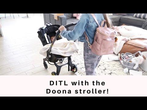 Doona Stroller DITL | How We Use The Doona Stroller | Is The Doona Stroller Worth Buying