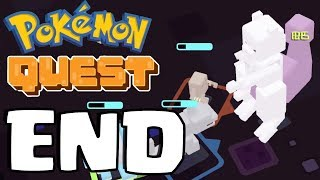 *GIANT MEWTWO* Final Boss Battle - Pokemon Quest Part 8 ENDING (Switch, IOS, Android)