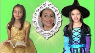 A PRINCESA A BRUXA E O ESPELHO MÁGICO!!! The princess, the Witch and the Magic Mirror