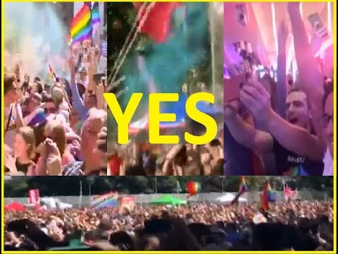 Australia  Celebrating Marriage Equality - THE MOMENTS OF YES