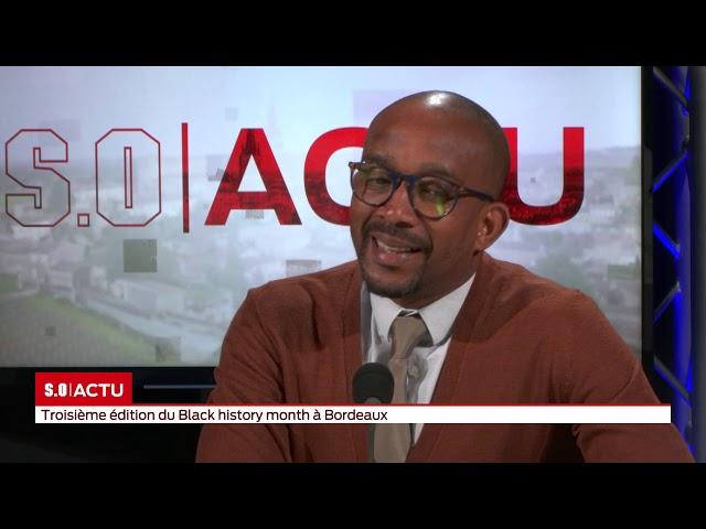 L'invité du journal   Karfa Diallo - Black history month