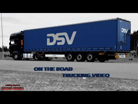 On the Road - Trucking Video | Trip, Latvia - Sweden