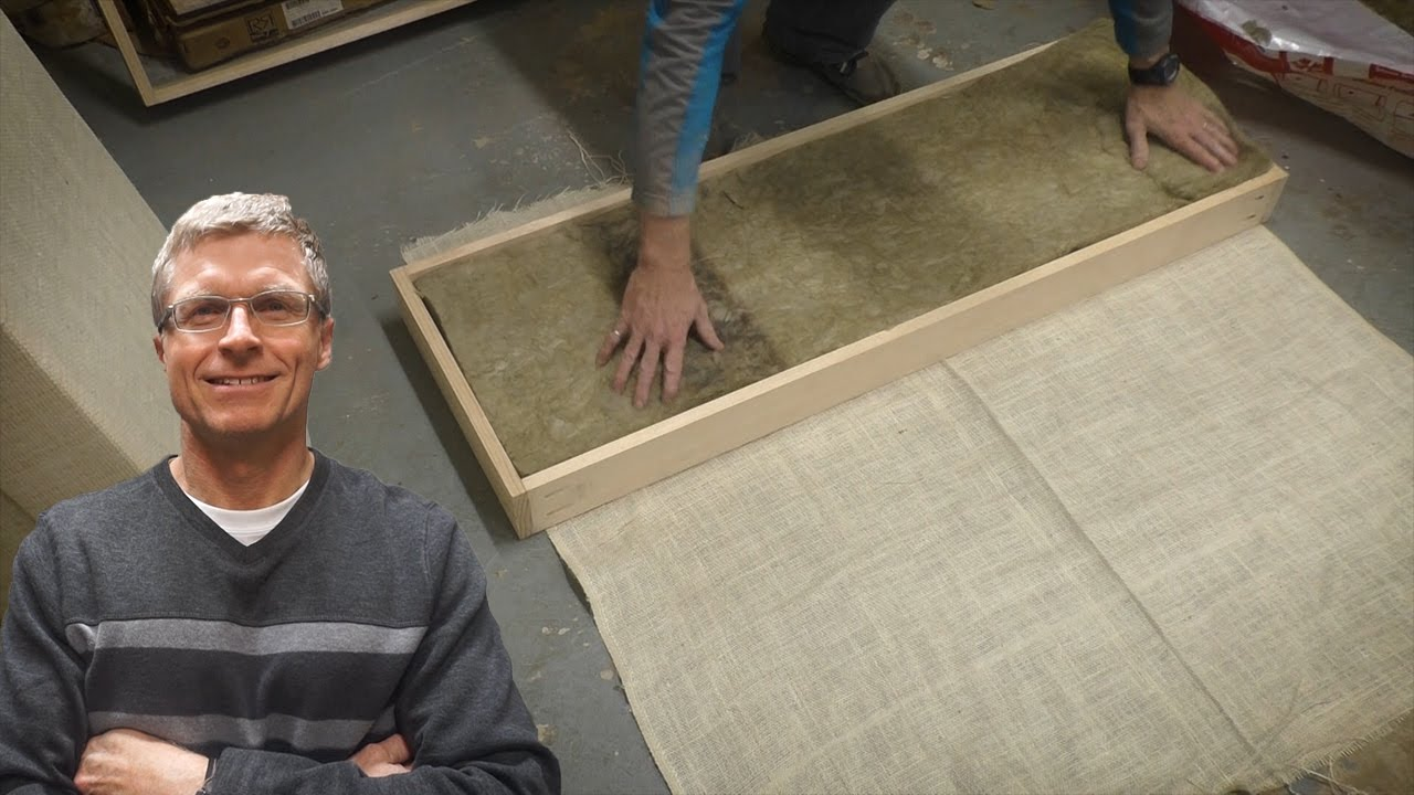 DIY Acoustic Panels - YouTube