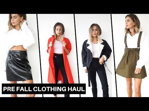 Pre-Fall Clothing Haul + Try On (Zara | Free People | H&M | Urban Outfitters | River Island)