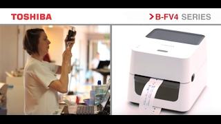 видео Принтер этикеток Toshiba TEC B-SV4T