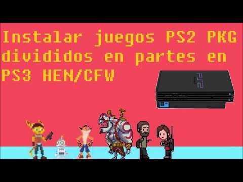 Instalar Juegos Divididos Ps2 Pkg En Ps3 Hen / Cfw