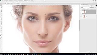 Как усилить контраст в зрачках на портрете в Adobe Photoshop 2020