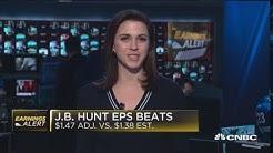 JB Hunt posts mixed third quarter earnings