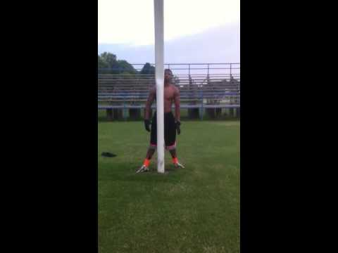 Malcolm Grant catching drills pt1