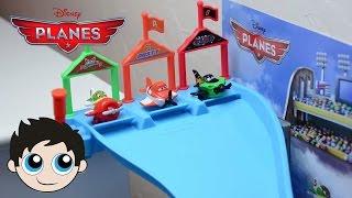 Disney Planes Micro Drifters Wall Race Track Set Plane Toys