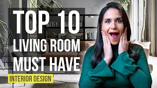 Top 10 Interior Design Ideas And Home Decor For Living Room