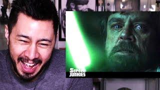 HONEST TRAILERS: STAR WARS THE LAST JEDI | Reaction!
