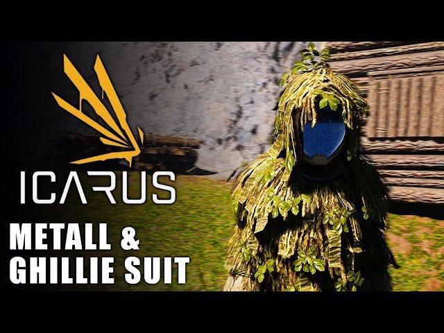 Icarus 🌿 Metall & Ghillie Suit #02 [Lets Play   Gameplay Deutsch   Beta 3]