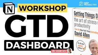 Advanced GTD Dashboard in Notion