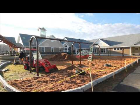 Spaulding Youth Center Playground Construction 2015