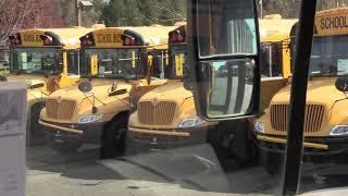 2005 International CE-300 71 Passenger Conventional School Bus - B75505