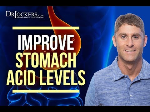 10 Ways to Improve Your Stomach Acid Levels