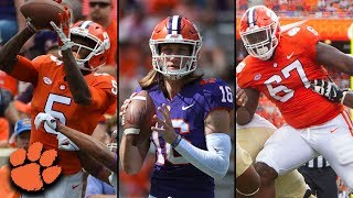 Download Video Top 3 Breakout Candidates | Clemson Football 2018 MP3 3GP MP4
