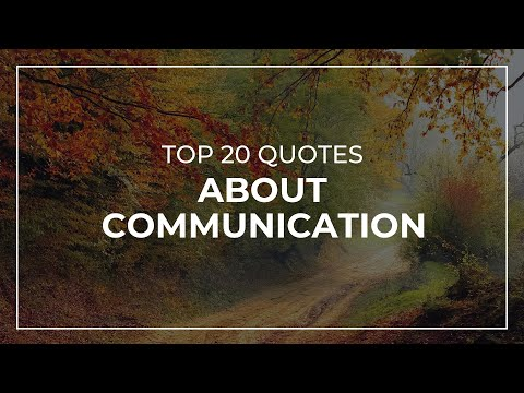 Top 20 Quotes About Communication | Beautiful Quotes | Inspirational Quotes