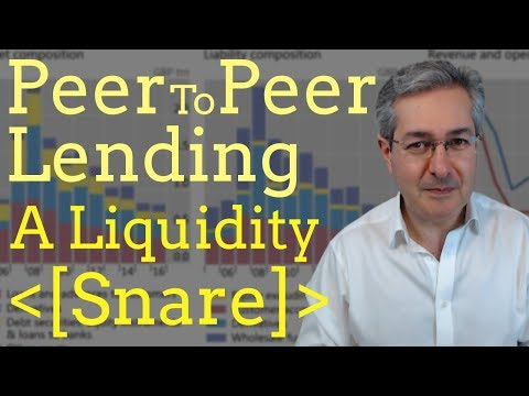 Peer To Peer Lending UK - A Liquidity Snare