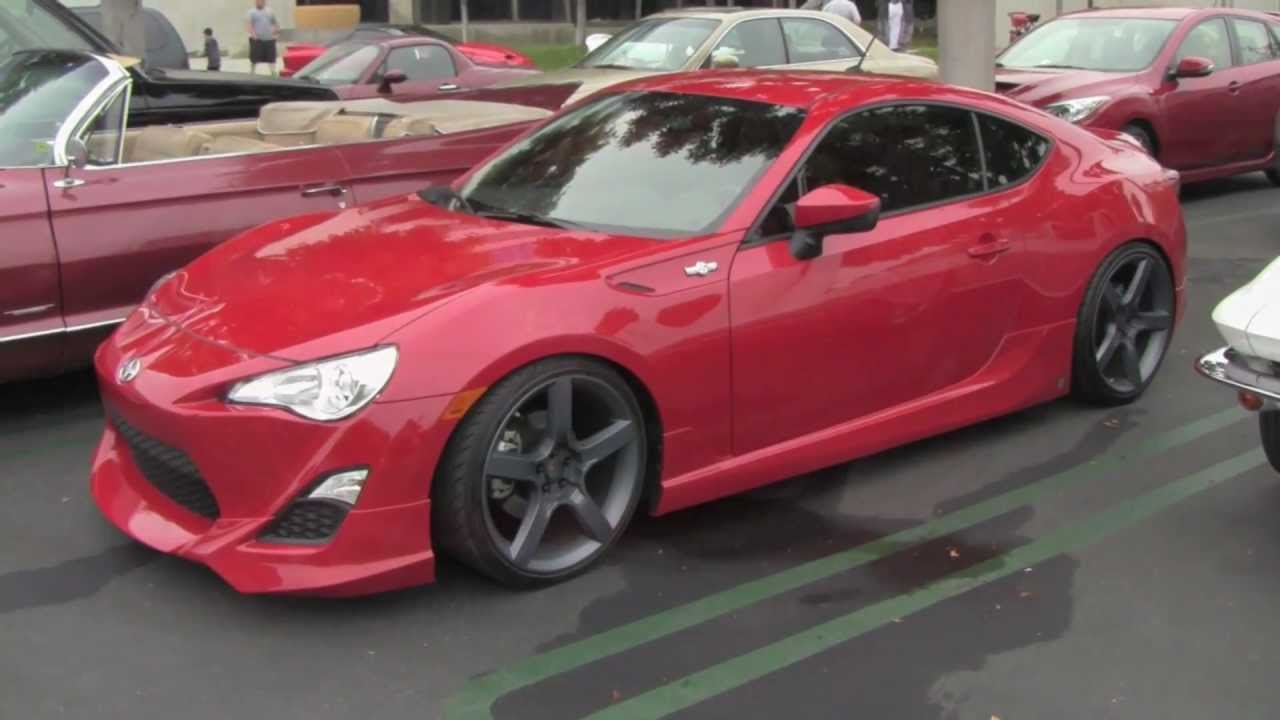 Scion Fr S With Five Axis Design Mods Youtube