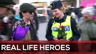 Where Police Meets Humanity & Heroism #4 REAL LIFE HEROES 2017