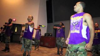 Texas State 2012 NPHC Step Show (Omegas)