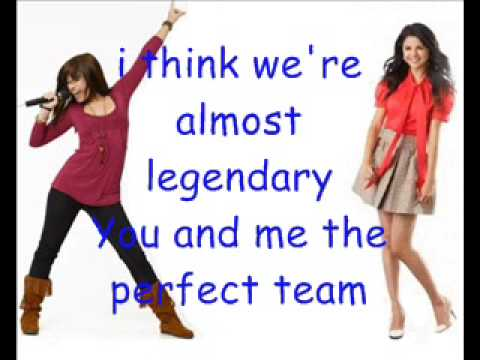 Demi Lovato & Selena Gomez One and the Same Lyrics on Screen HQ  download link